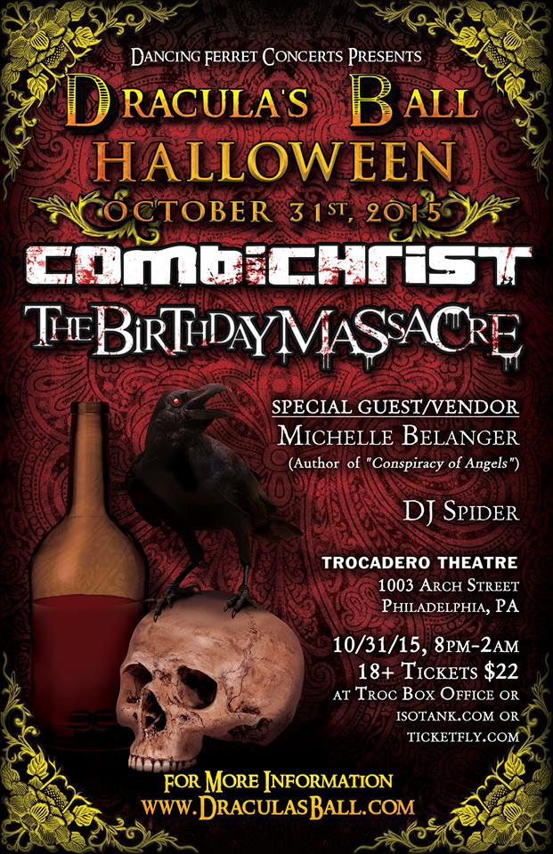 Dracula's Ball Halloween Event Poster